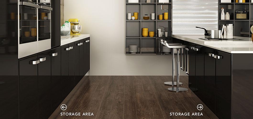 Contemporary-Black-Lacquer-Kitchen-Cabinet-OP15-L15 (3)