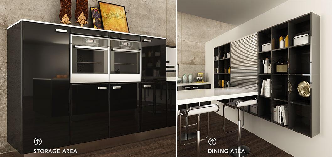 Contemporary-Black-Lacquer-Kitchen-Cabinet-OP15-L15 (6)