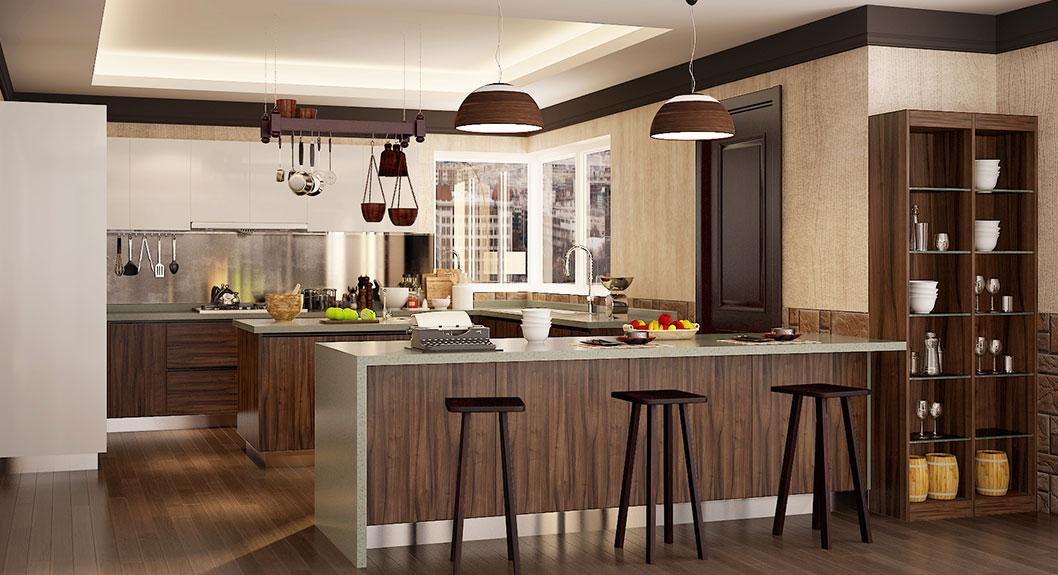 Modern-Dark-Wood-Grain-U-Shape-Kitchen-Cabinet-OP16-PVC06 (2)