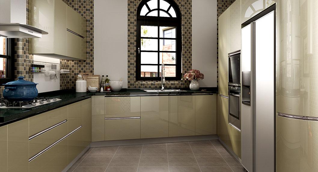 Modern-Green-Golden-Silver-Flashing-Kitchen-Cabinet-OP16-L26 (2)