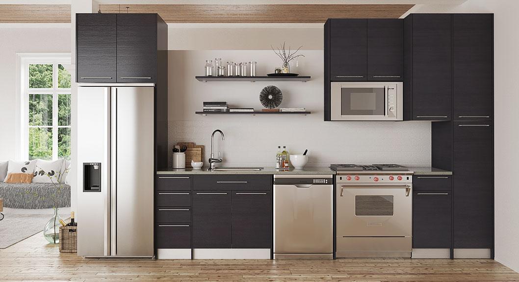Modern-Grey-Matte-Melamine-Kitchen-Cabinet-OP15-M12 (2)